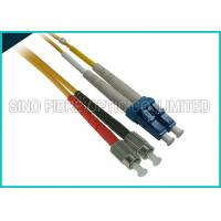 Wholesale Duplex Singlemode Fiber Optic Assembly LC to LC Patch Cord 3 Foot Length from china suppliers