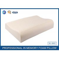 Wholesale Wave Shape Health Care Open-Cell Natural Latex Foam Pillow With Soft Cover from china suppliers