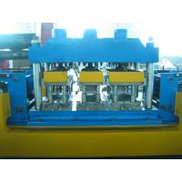Wholesale Gear Box Driving Mental Door Frame Roll Forming Machine 20 Roll Forming Stations from china suppliers