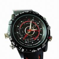 Wholesale Waterproof Hidden Watch Camera with 4GB Internal Memory from china suppliers