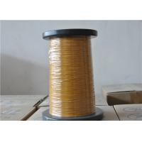 Wholesale 0.10 - 1.0mm Full Sizes Triple Insulated Wire Yellow Enamelled Copper Wire from china suppliers