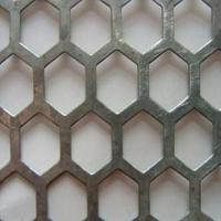 Wholesale stainless steel hexagonal perforated metal from china suppliers