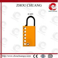 Wholesale Different  types and colors  Steel Aluminum Hasp for lockout from china suppliers
