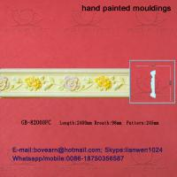 Wholesale Hand Painted Hollow PU cornice Mouldings /Foam Mouldings from china suppliers