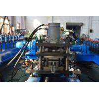 Wholesale PLC Control 2 - 4m/min Hydraulic Punching Roll Forming Equipment Solar Strut 13 Roller Stations from china suppliers