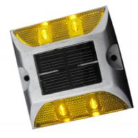Buy cheap outdoor waterproof solar power led road stud from wholesalers