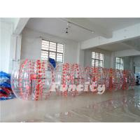 Wholesale Customized TPU Inflatable Bumper Ball , Large Kids Bubble Football from china suppliers