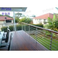 Quality Modern Design Outdoor Balcony s.s 304 Stainless Steel Railings for sale