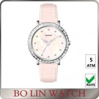 Wholesale Sapphire Crystal Shining Diamond Quartz Watch For Women MOP Dial from china suppliers