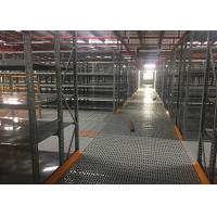 Wholesale Gray Rack Supported Mezzanine Steel Shelving Systems for Huge Warehouse from china suppliers