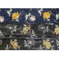 Wholesale Embroidery Sequin Lace Fabric with 3D Elegant Multi Colored Flowers Pattern from china suppliers
