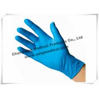 Wholesale 4 Mil Nitrile Medical Examination Gloves Blue Powder Free Food Grade from china suppliers