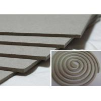 Buy cheap Solid 1500gsm Unbleached Grey Board Raw Material for Mosquito Coil from wholesalers