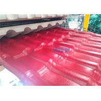 Wholesale Impact Resistance Antifreezing Durability PVC roof Tile Machine 880mm Width from china suppliers