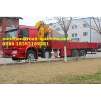 Wholesale Sinotruk xcmg 15T Truck Mounted Crane / Lorry Crane / Truck With Crane  /Pickup Truck , Right Hand Type from china suppliers