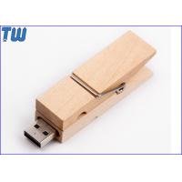 Wholesale Bulk Wood Clip 8GB USB Thumb Drive Multi-function Custom Branding from china suppliers