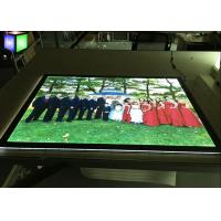 Wholesale One Side Slim Acrylic LED Light Box Display Indoor Magnetic Frame Edge Lit from china suppliers