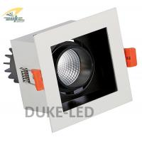Wholesale Square LED Recessed Downlights 8w COB Chip White Surface 24° View Inset Ceiling Spotlights from china suppliers