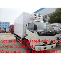 Wholesale hot sale best price CLW brand 3-5ton mini refrigerated truck for sale, China brand 3tons-5tons cold room truck for sale from china suppliers
