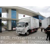 Wholesale CLW brand refrigerated truck for fresh vegetables and fruits for sale, high quality cold room truck for frozen food from china suppliers