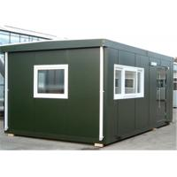 Wholesale Polystyrene Panel Flat-packed Green Conex Box Homes Used For Office Accommodation hotel from china suppliers