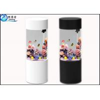 Wholesale Cylindrical Wall Panel Acrylic Custom Fish Tanks Aquarium Ecology 101L for Decorative from china suppliers