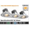 Buy cheap High Brightness LED Recessed Downlight Triple - Head 30 Degree Tilt Energy Saving from wholesalers