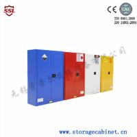 Quality Red Paint Ink Chemical Storage Cabinet For Flammable Liquids 60 Gallon Free of charge for sale