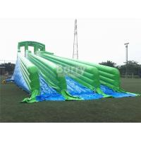 Wholesale Durable Giant Inflatable Slide , Green 10000ft Blow Up Slip n Slide from china suppliers