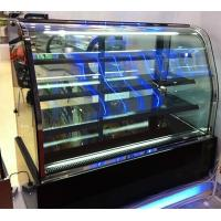 Wholesale Refrigerated Kitchen Bread Cake Glass Food Display Cabinets AC220 50HZ 580W from china suppliers