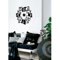 Wholesale Modern Vinyl Wall Sticker Clock For Home Decoration 10A097 from china suppliers