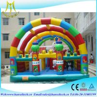 Quality Hansel giant buy used inflatables playground for commercial for children for sale