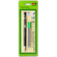 Wholesale Coating Barrel Refillable Mechanical Pencil 2mm Black Lead SGS Certification from china suppliers