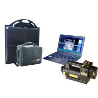 Wholesale 150kV 22mm Steel Portable X-ray baggage Inspection System For check point , vehicle from china suppliers