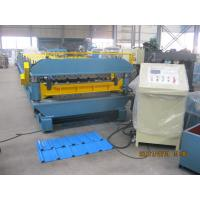 Wholesale Decking and Roof  Double Layer Cold Roll Forming Machine 72mm dia shaft from china suppliers