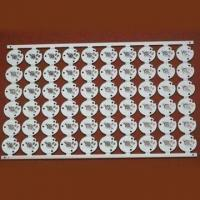 Wholesale Single-sided Aluminum Base LED PCB Board with 1.6mm Board Thickness from china suppliers