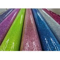 Wholesale Colorful Party Decoration Glitter Pvc Fabric 0.35mm Thickness For Sewing Bags from china suppliers