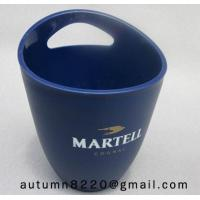 Wholesale Clear dark blue plastic ice bucket from china suppliers