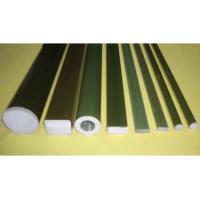 Wholesale Polishing Pultruded Fiberglass Rod , Polymer Insulator Epoxy Resin FRP Rod from china suppliers