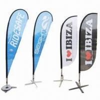 Wholesale Flying Flag with Aluminum Flagpole and Spike, Easy to Assemble from china suppliers