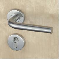 Wholesale Silver SUS304 Stainless Steel Escutcheon Lock Fire Proof For Residential from china suppliers