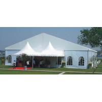 Wholesale Aluminum Frame 10 X 20 White Outdoor Wedding Tent Double PVC for 500 People from china suppliers