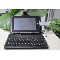 Wholesale Abrasion resistant PU Bluetooth Keyboard for Iphone , apple ipad with micro USB cable from china suppliers