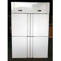 China Dual Temperature Solid Door Reach In Refrigerator / Commercial Reach In Refrigerator Freezer Combo on sale