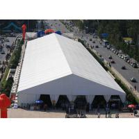 Wholesale Affordable Big Outdoor White Exhibition Tents Customized 10x25m 20x30m 30x40m from china suppliers