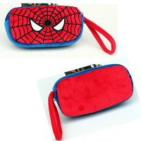 Wholesale Cute Spider man Cartoon Characters Plush Pencil Case For Promotion Gifts from china suppliers
