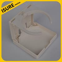Wholesale ISURE MARINE Boat Yacht Cup Holder White Nylon Adjustable Folding Drink Holder from china suppliers