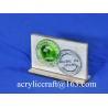 Buy cheap POP acrylic logo block /acrylic logo display stand / acrylic logo holder from wholesalers