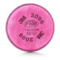 Quality 3M Particulate Filter 2096, P100 Respiratory Protection, Nuisance Level Acid Gas Relief for sale