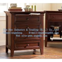 Wholesale Wooden bedroom furniture, wooden bedside cabinet, wooden chest of drawers from china suppliers